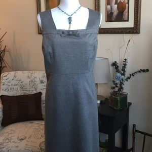 Gray beautiful dress